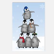 """Penguin Tree"" Postcards (8)"