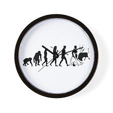 Matador Toro Bullfighters Wall Clock