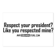 Like you respected mine? Postcards (Package of 8)