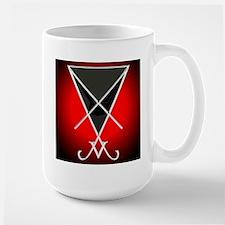 Silver Lucifer Tall Sigil Mug