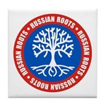 Russian Roots Tile Coaster