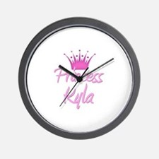Princess Kyla Wall Clock