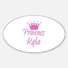Princess Kyla Oval Decal