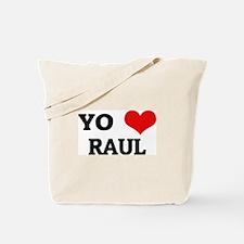Amo (i love) Raul Tote Bag