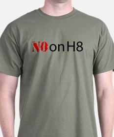 NO on H8 (Hate) T-Shirt
