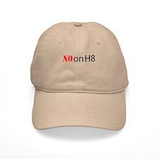 NO on H8 (Hate) Baseball Cap