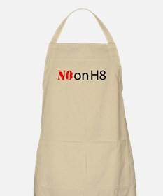 NO on H8 (Hate) BBQ Apron