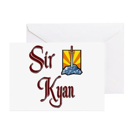 Sir Kyan Greeting Cards (Pk of 20)