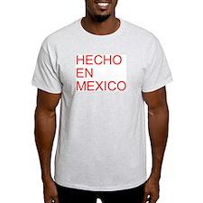 HECHO EN MEXICO Ash Grey T-Shirt