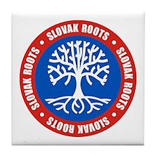 Slovak Roots Tile Coaster