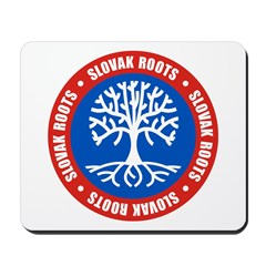 Slovak Roots Mousepad