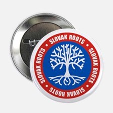 "Slovak Roots 2.25"" Button"