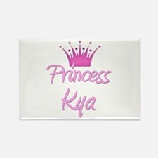 Princess Kya Rectangle Magnet