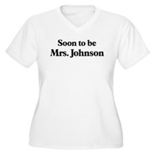 Soon to be Mrs. Johnson T-Shirt