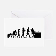 CEO Boss Evolution Greeting Cards (Pk of 20)