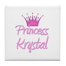 Princess Krystal Tile Coaster