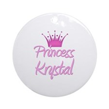 Princess Krystal Ornament (Round)