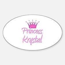 Princess Krystal Oval Decal
