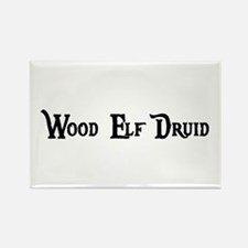 Wood Elf Druid Rectangle Magnet