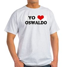 Amo (i love) Oswaldo Ash Grey T-Shirt