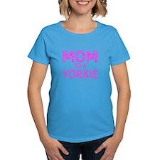 MOM to a Yorkie Tee