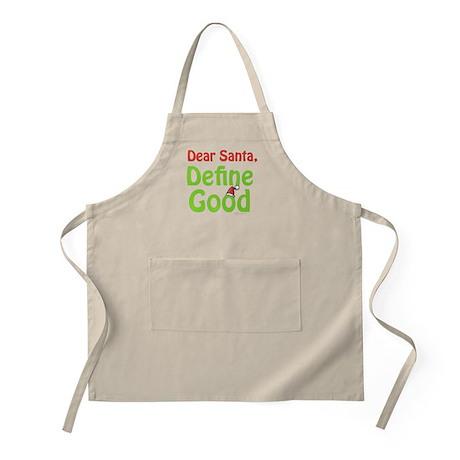 Define Good Santa BBQ Apron