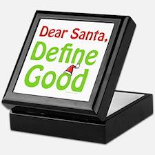 Define Good Santa Keepsake Box