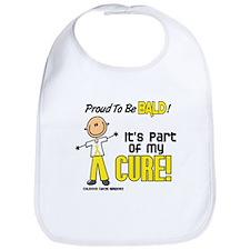 Bald 1 Childhood Cancer (SFT) Bib