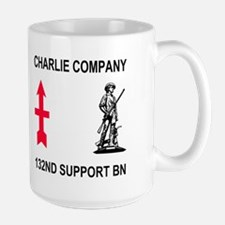 C Company <BR>132nd Support Bn <BR>15 Ounce Mug