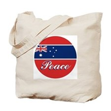 Aussies 4 PEACE Tote Bag