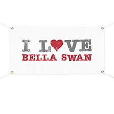 I Love Heart Bella Swan Twilight Banner