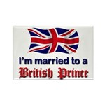 Married To British Prince Rectangle Magnet (100 pa