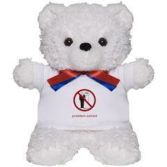 Problem Solved Teddy Bear