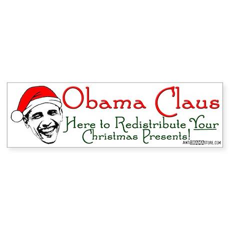 Obama Claus! Bumper Sticker