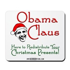 Obama Claus! Mousepad