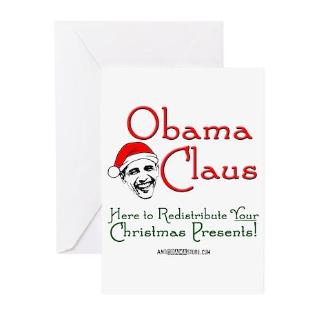 Obama Claus! Greeting Cards (Pk of 20)