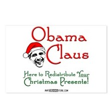 Obama Claus! Postcards (Package of 8)