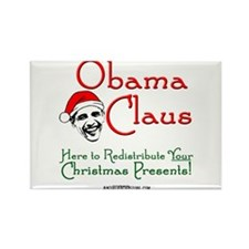 Obama Claus! Rectangle Magnet (10 pack)