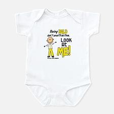 Bald 2 Childhood Cancer (SFT) Infant Bodysuit