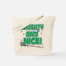 NAUGHTY AND NICE! Tote Bag