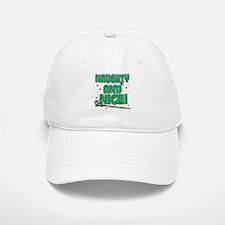 NAUGHTY AND NICE! Baseball Baseball Cap