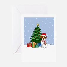 Brittany Howling Holiday Greeting Cards (Pk of 20)