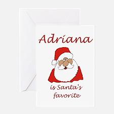 Adriana Christmas Greeting Card