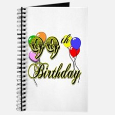 99th Birthday Journal