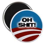 "O Shit! 2.25"" Magnet (10 pack)"