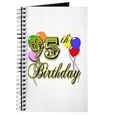 95th Birthday Journal