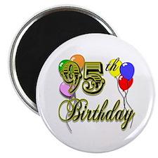 95th Birthday Magnet
