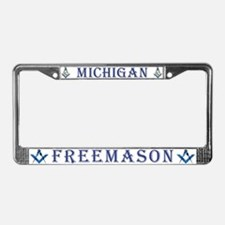 Michigan Masons License Plate Frame