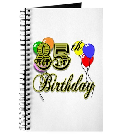 85th Birthday Journal