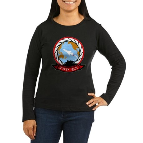 VFP 63 Eyes of the Fleet Women's Long Sleeve Dark